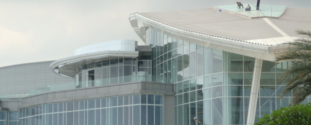 PVC curtain wall in Indonesia